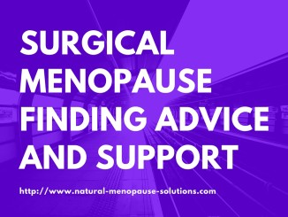 surgical menopause finding advice and support